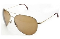 AO EYEWEAR - GENERAL 8-BASE with GOLD FRAME SUNGLASSES