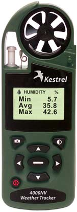 Kestrel 4000NV with Bluetooth Wireless