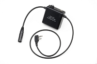 Bose X (6 Pin Lemo) Headset Adapter for ICOM A3, A6, A14, A22, A24 Transceivers