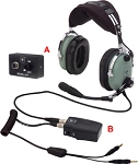 David Clark Headsets : H10-13 HXL Helicopter