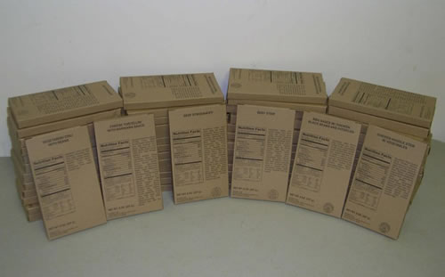MRE - Variety Case of 72 (8oz) - Meals Only