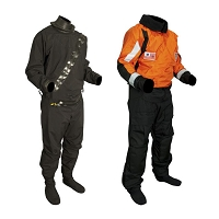 Sentinel™ Series USCG Heavy Duty Boat Crew Dry Suit (Rubber Seals and Drop-Seat)